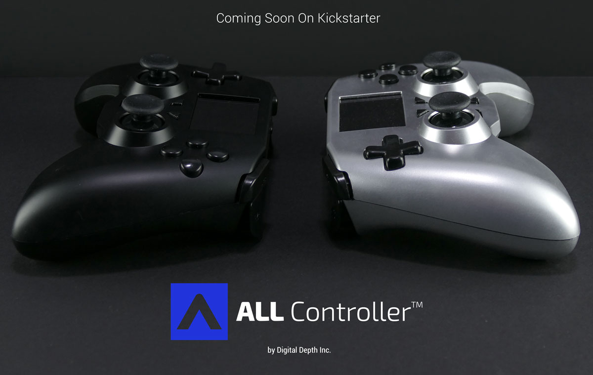 Home All Controller The Worlds First Universal Gamepad Joystick Double Game Pad Transparant Wellcome